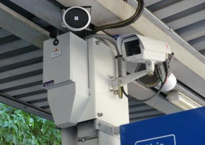 Mise en place du système de vidéo surveillance